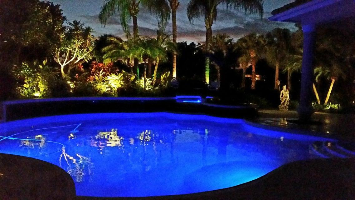 Pool at Night