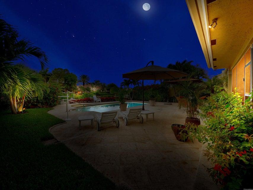 Patio - Night View