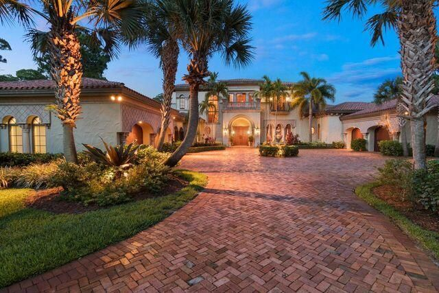 Experience old world charm in this classic beauty that sits on 6.3 acres on the Intracoastal Waterway. This estate home can accommodate adding additional homes on the property, a survey is available. Built in 2004 by OnShore Construction, ensuring the highest level of CBS construction. Features include all impact glass, the ultimate chef's kitchen, 3 fireplaces, beautiful use of pecky cypress & cast stone, unique ceiling designs, 250 bottle wine room, 15KW generator, 4 car garage & deep pool w/ spa. MasterMacArthur, Jupiter Hills and other premier golf courses are less than 10 minute drive away. Two car garage on north side is insulated, air conditioned & carpeted. 2nd bedroom was converted into a billiard room but simple to change back to a bedroom. Billiard room has wet bar and fridg Gas fireplace in formal living room, family room & loggia. Loggia has all new screens w/ fine weave to prevent no see 'ums. Brand new 15kw generator, newer 120 gallon hot water heater & 5 AC units all replaced in last 5 yrs. Lighted boardwalk to dock is 5' wide to accommodate a golf cart. Dock is 33' long & includes water, electric, fish cleaning station, snook light & benches. 15,000 lb. elevator lift. Pool is 20x40, refinished with all new pool equipment (10 year labor/parts warranty).