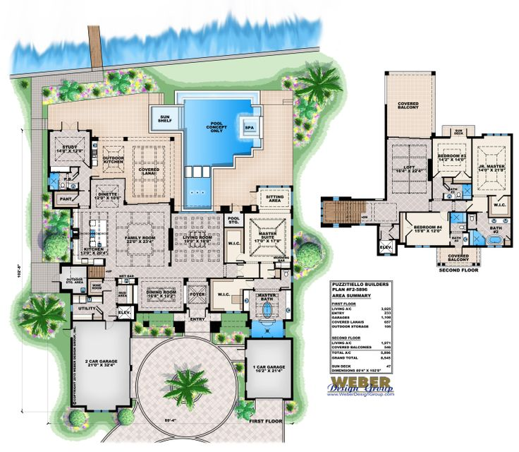PUZZITIELLO BUILDERS FLOOR PLAN