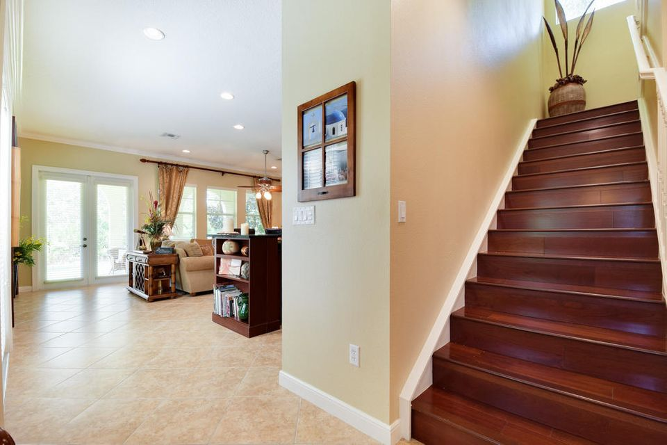 Staircase To Bedroom Area