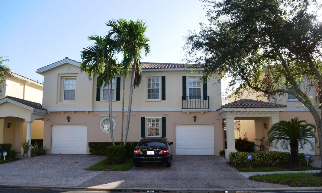 "Highly sought after Divosta  3 BR/2.5 Ba 1 Cg town home that is centrally located to Shopping, fine dining, Hospitals, Downtown at the Gardens, the Gardens Mall, Local schools and colleges PBI airport and so much more. Divosta built so you know it is quality built and a well maintained community. The home is very charming with tile downstairs, 42"" kitchen cabinets, corian counters and updated appliances. Tile, wainscoating, and crown molding adorn a spacious Living and Dining area. The master and 2nd Bedroom have walk in closets and the unit has plenty of other storage space throughout. You have a large master bedroom with walk in closet. It has a spacious private screened patio for your relaxation and entertaining.  Other features are, central  vac, high end washer/dryer, and shutters. Development has a great pool, tennis and kids playground."