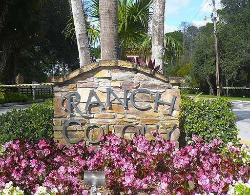 Ranch Colony main gate