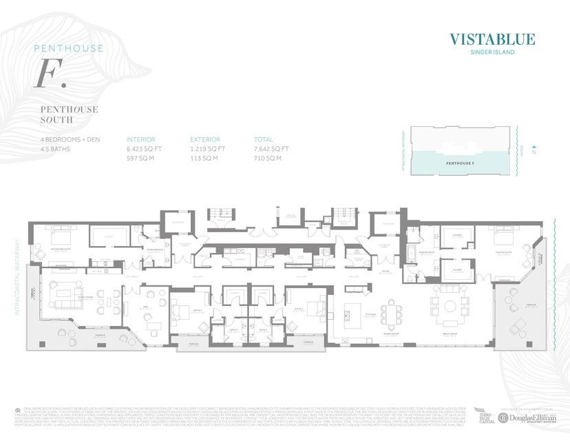 VistaBlue Penthouse F