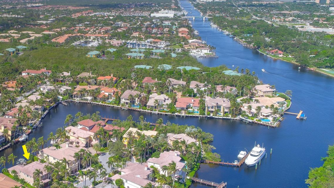 Aeriel 6 homes from Intracoastal