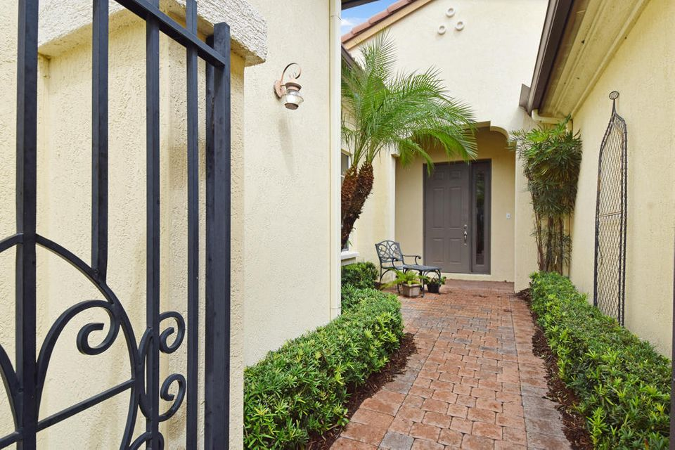 Gated Courtyard Entry