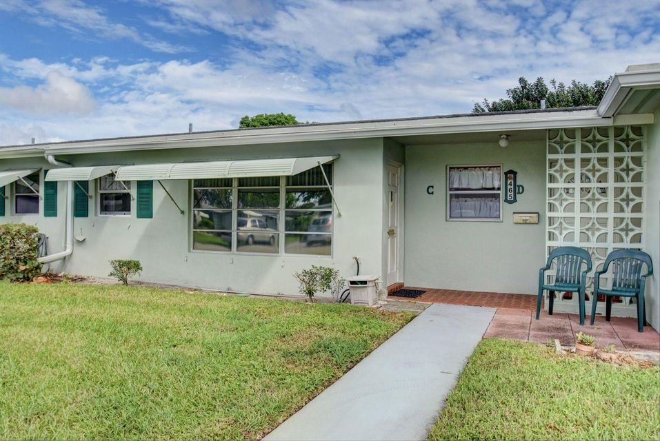 List Price 82 000 Villa Status Active Subdivision High Point Of Delray Beach