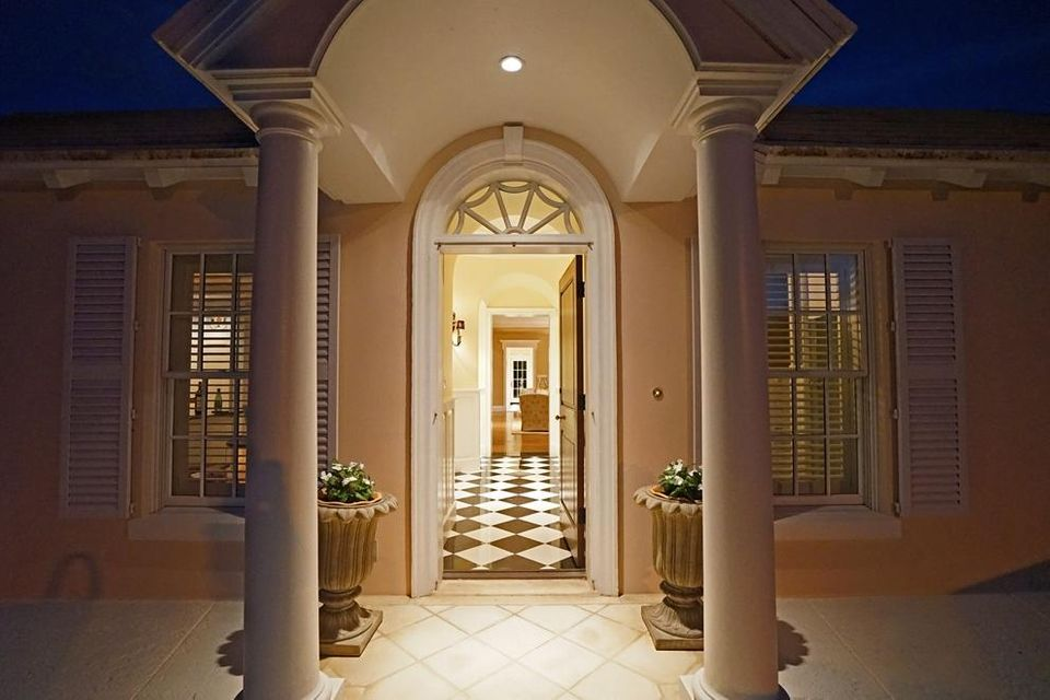 Formal foyer entry