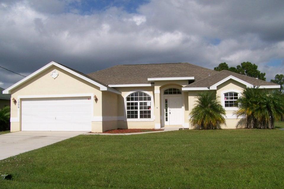 1209 SW Glastonberry Avenue Port Saint Lucie, FL 34953 - MLS #: RX-10376724