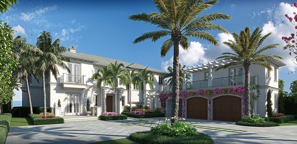 rendering of entrance of 2914