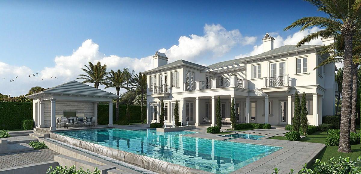 rendering of pool