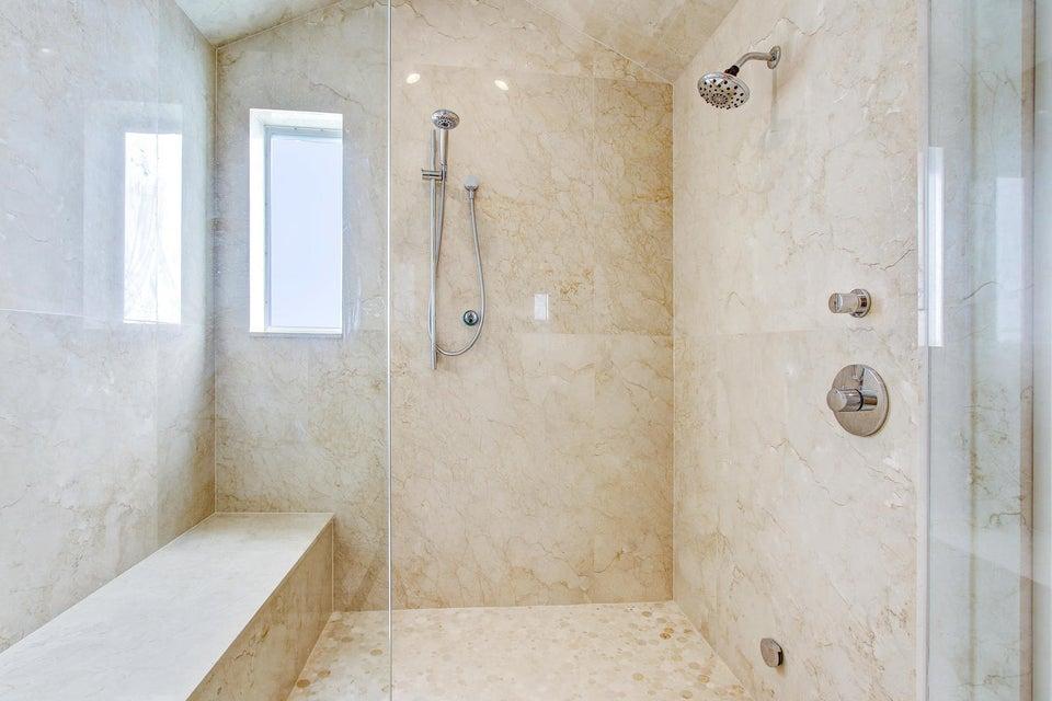 Master Bathroom Shower/Stream Shower