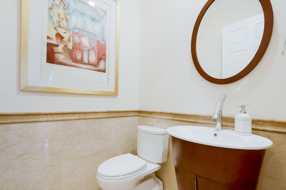 Powder Bathroom 2