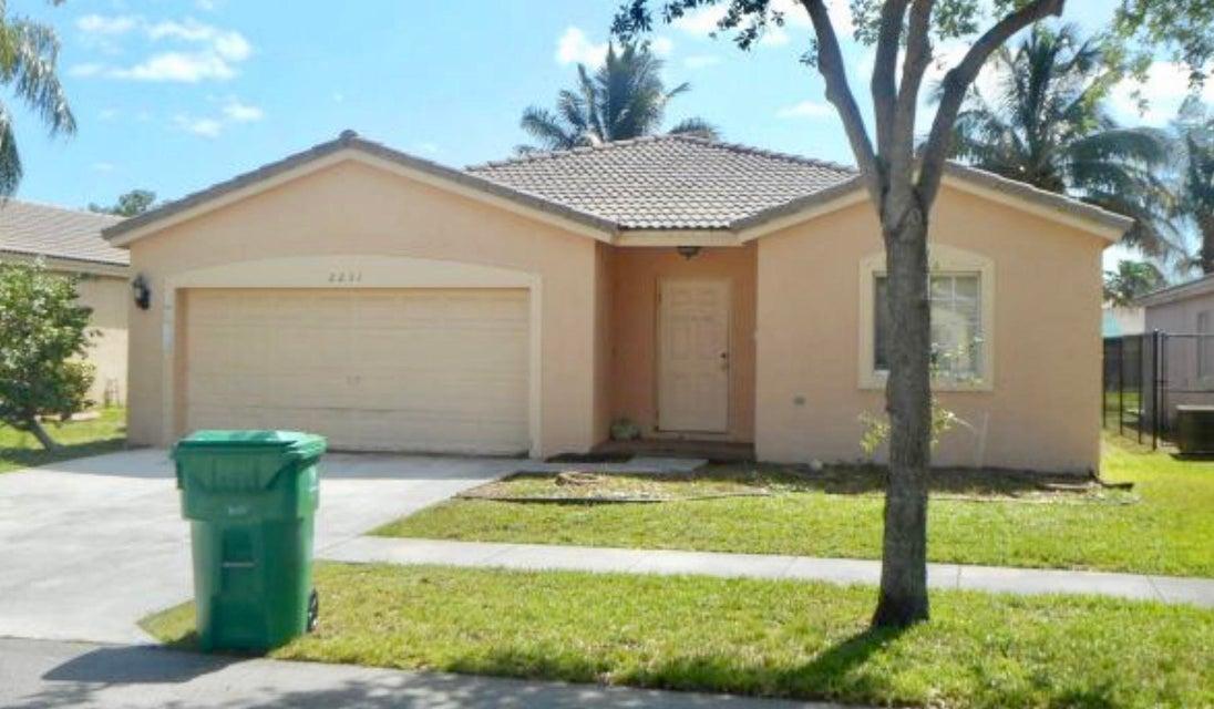 2231 SW 106th Avenue, Miramar, FL 33025