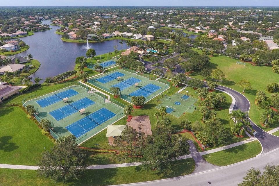 Egret Landing aerial clubhouse-tennis