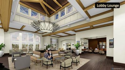 BI_Lobby Lounge_Perspective View