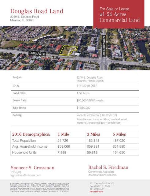 3240 S Douglas Road, Miramar, FL 33025