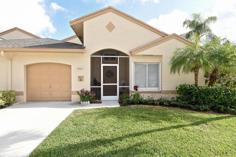 9817  Boca Gardens Circle #D Boca Raton, FL 33496