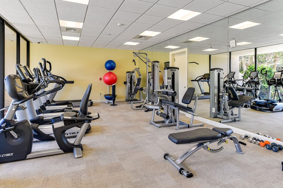 Leverett House Exercise Room