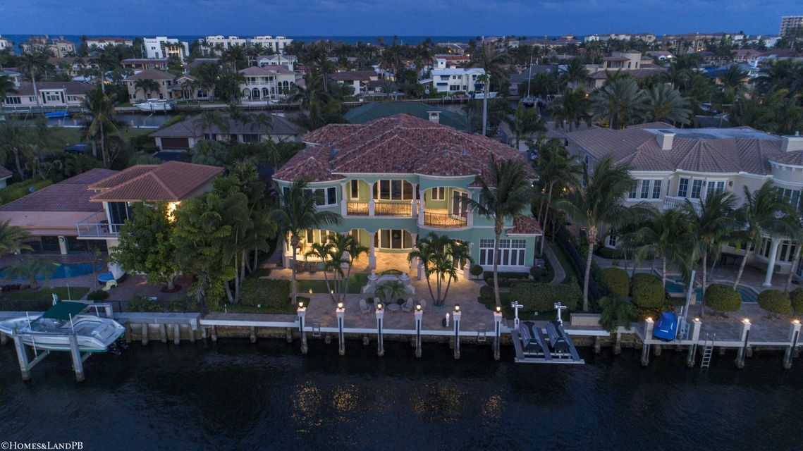 4216 Intracoastal Dr Night Aerial #4