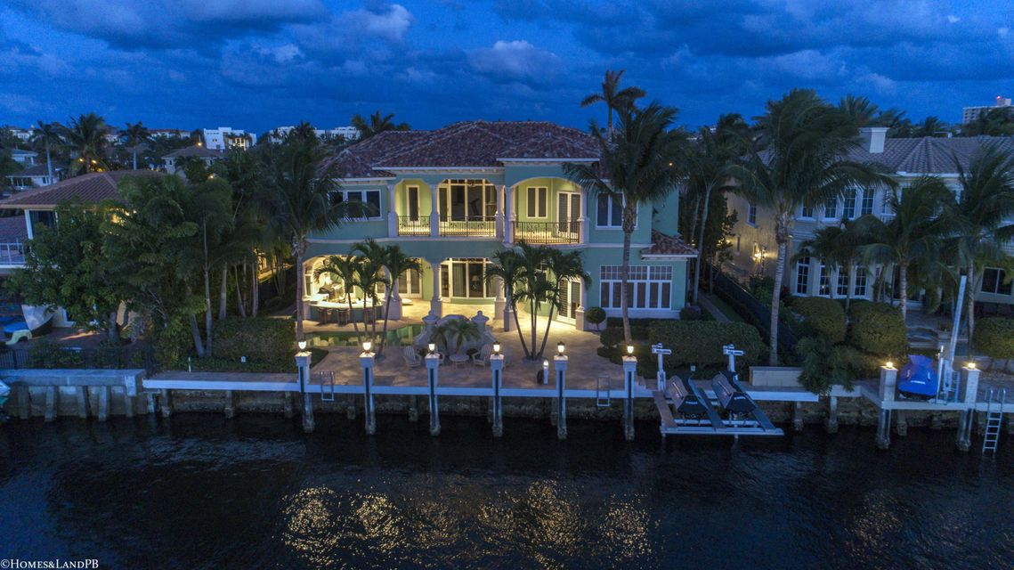 4216 Intracoastal Dr Night Aerial #9
