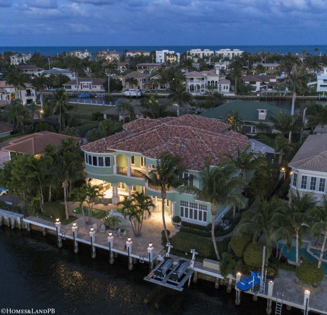 4216 Intracoastal Dr Night Aerial #7