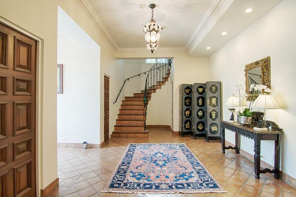 Formal entry foyer