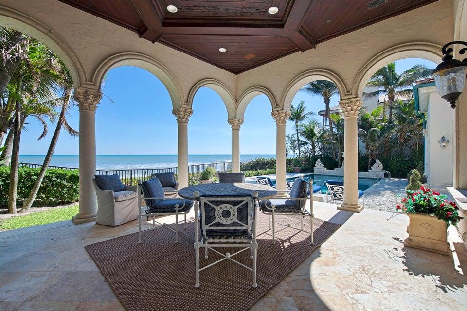 Terrace and Pool overlooking Ocean
