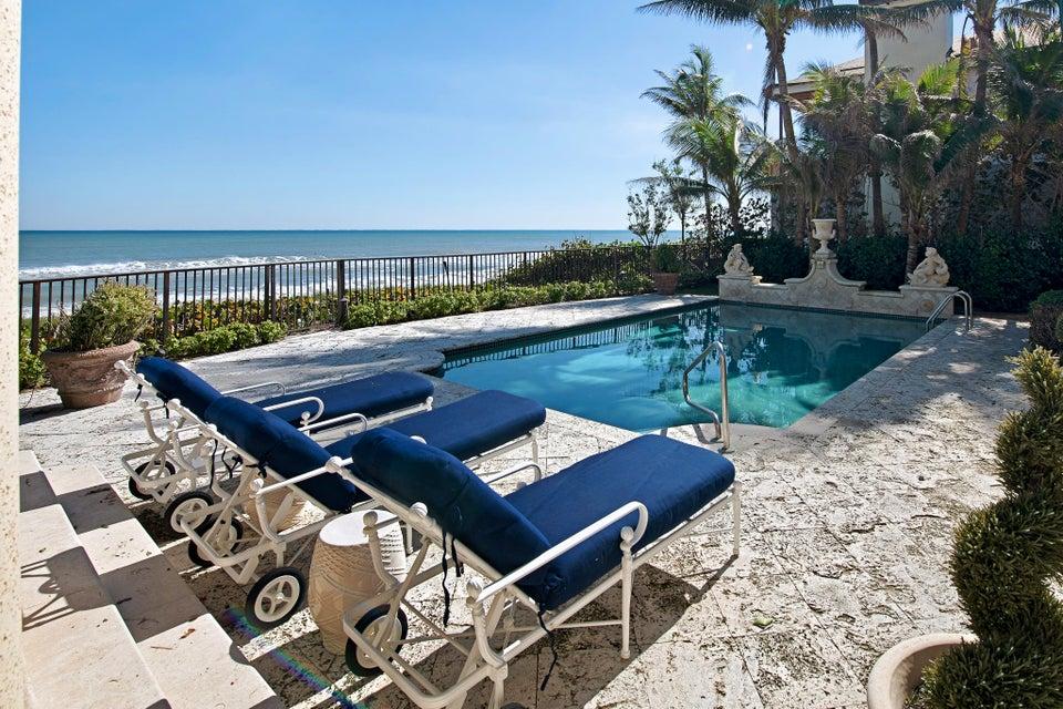 Pool overlooking the Ocean