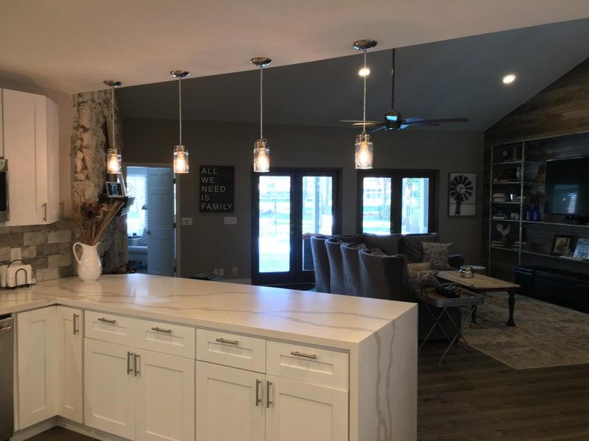 Kitchen Bar overlooking Living Room