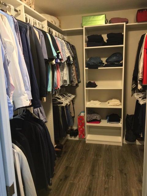 Master Bedroom Walk-In Closet