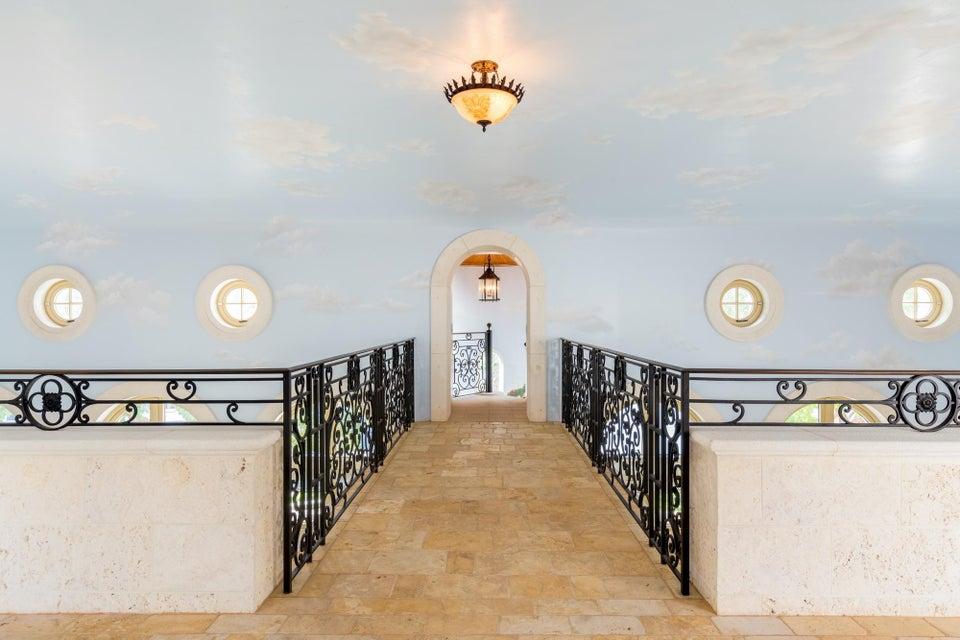 Above Pool Hallway 1
