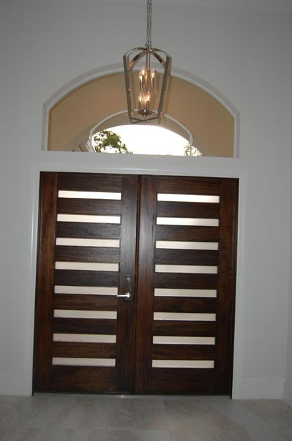 front doors from interior formal living