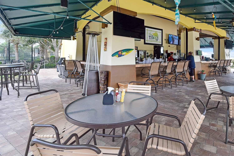Community Clubhouse Tiki Bar/Restaurant