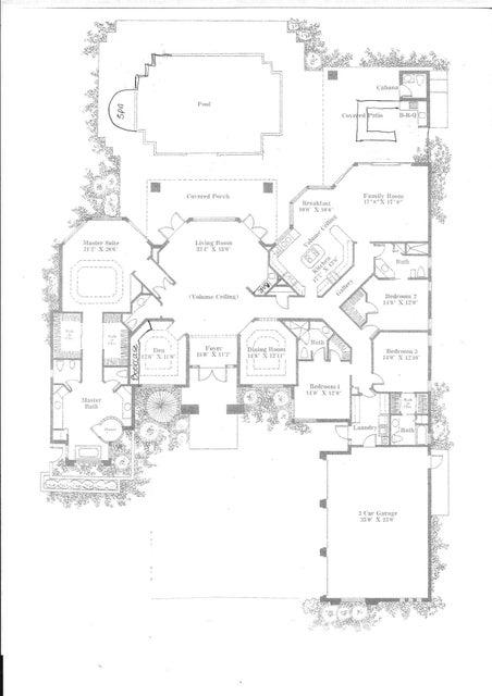 1768 Breakers West Floor Plan