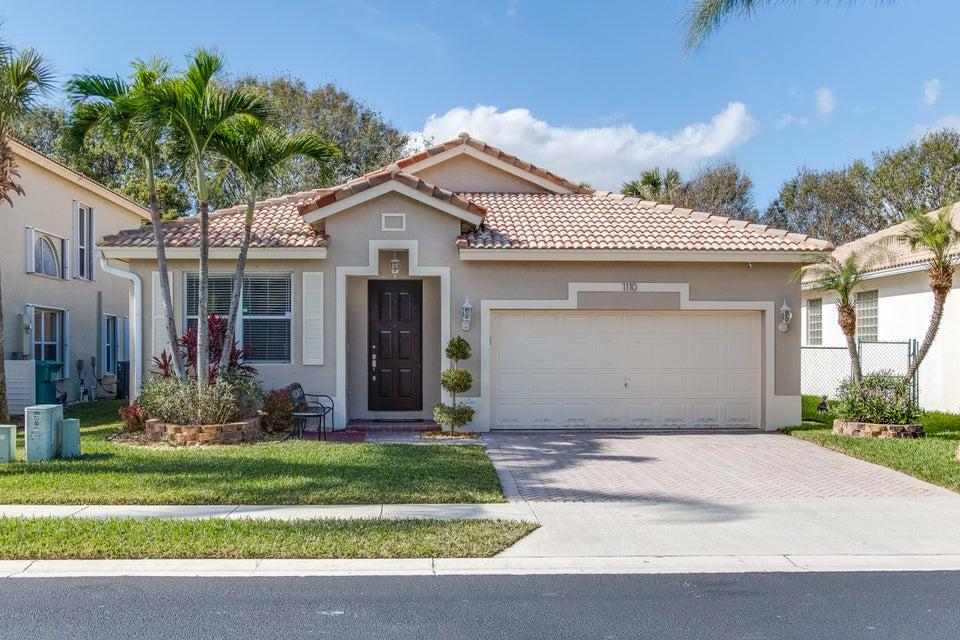 1110  Rialto Drive Boynton Beach, FL 33436