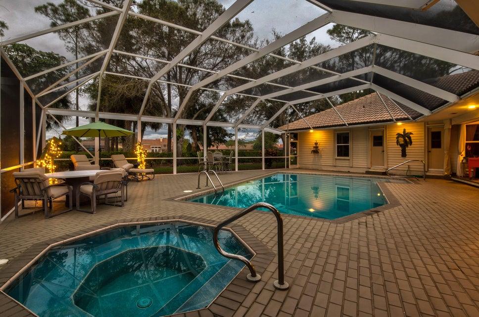 Evening Pool Photo