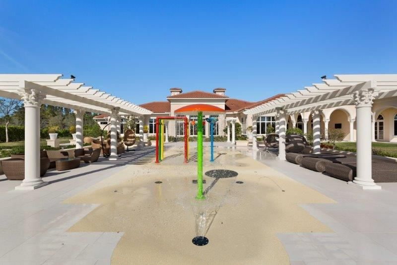 Patio with Waterpark Feature