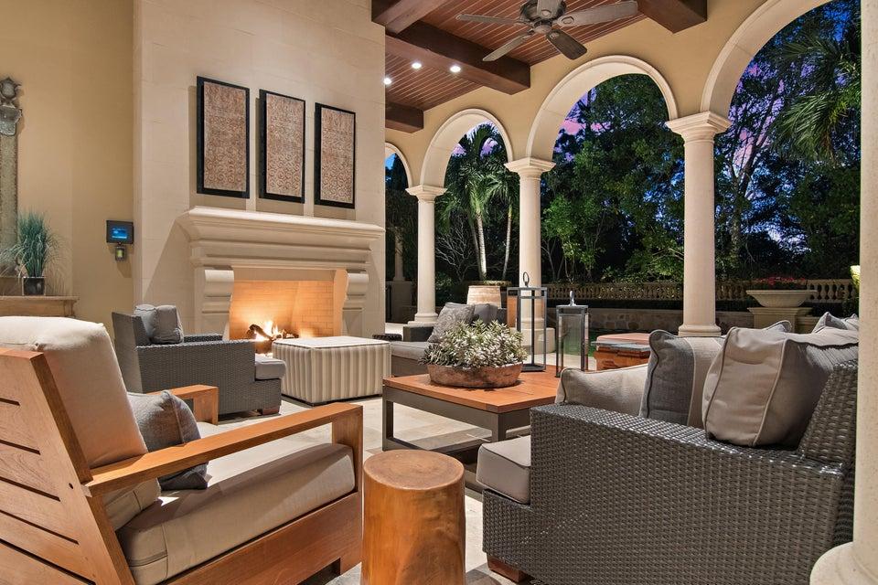 Loggia Fireplace