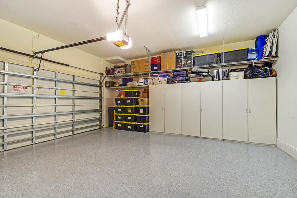 Epoxy Sealed Garage