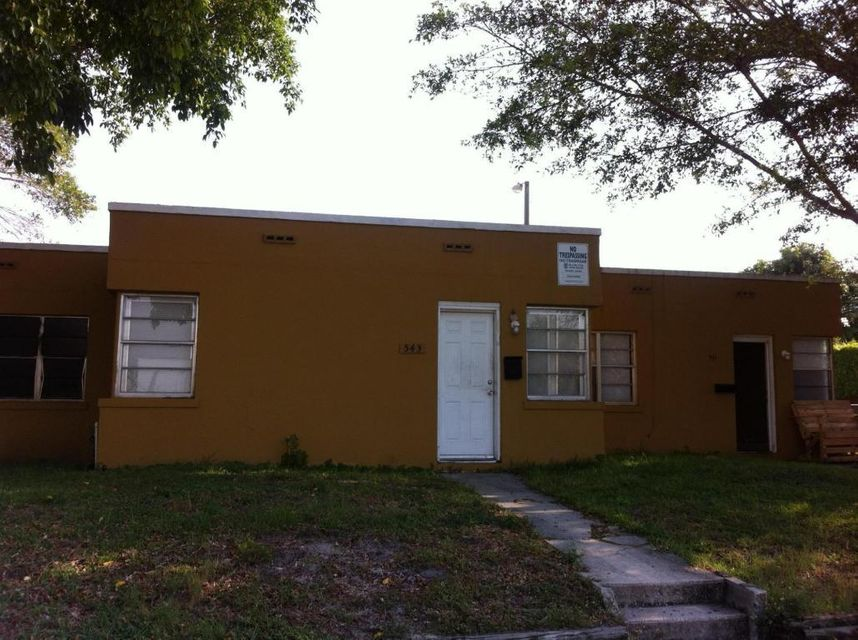 541 29th Street, West Palm Beach, Florida 33407, ,Triplex,For Sale,OLD NORTHWOOD,29th,RX-10407140