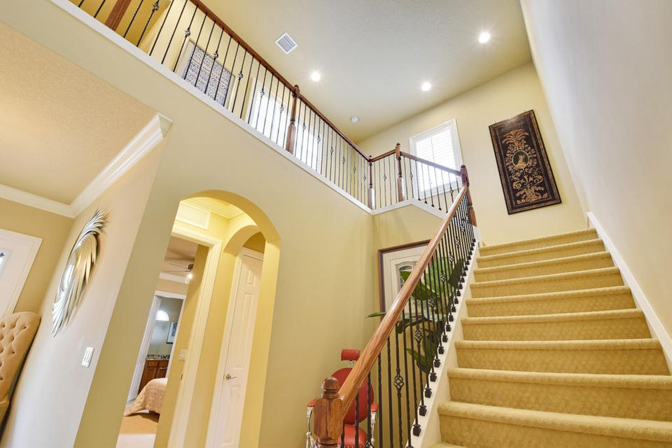 Staircase to 2nd & 3rd Bedrooms