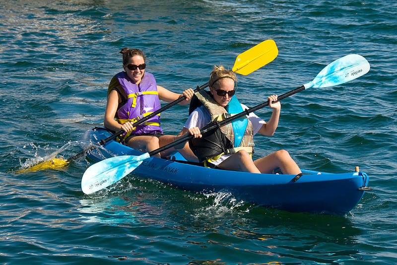 Local activities - Kayaking