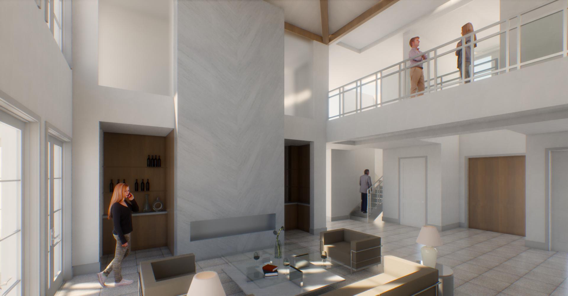 rendering of livingroom
