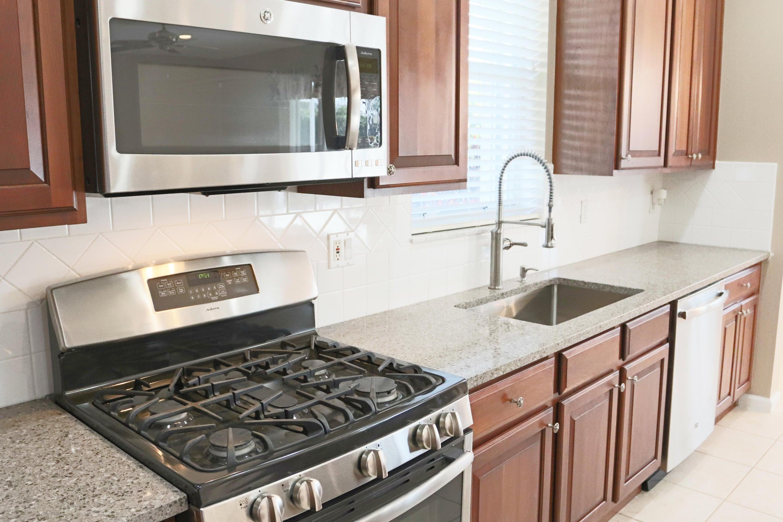 Kitchen Gas Range Microwave