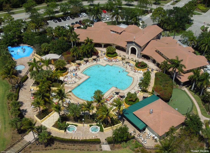 Aerial View Community Pool & Clubhouse