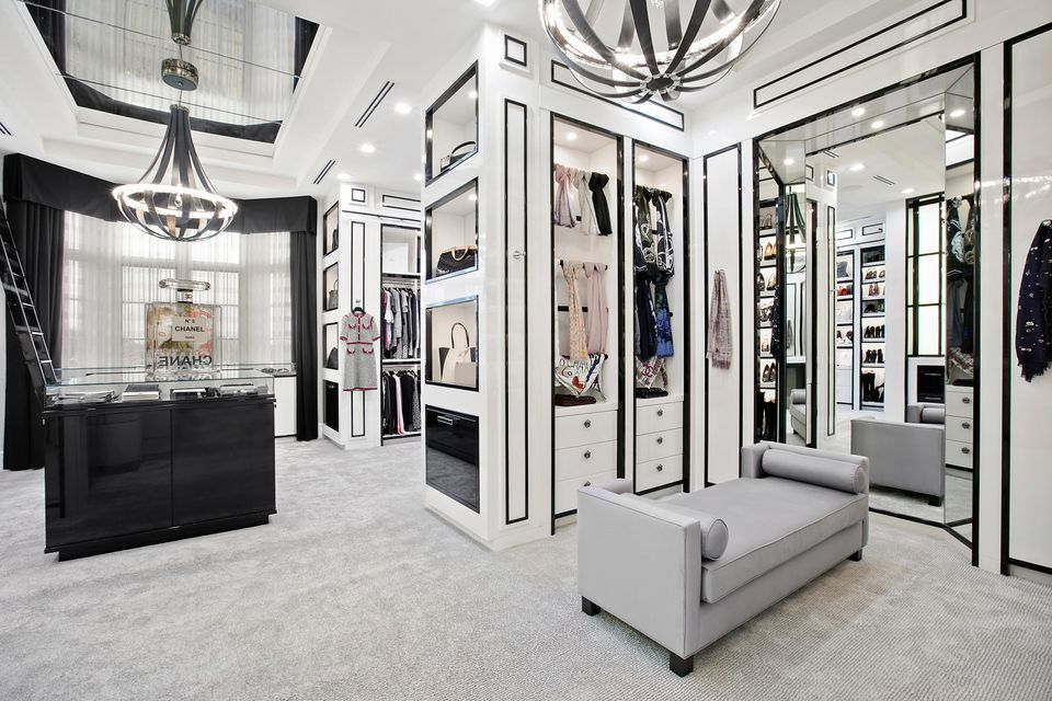Chanel-Inspired Dressing Area