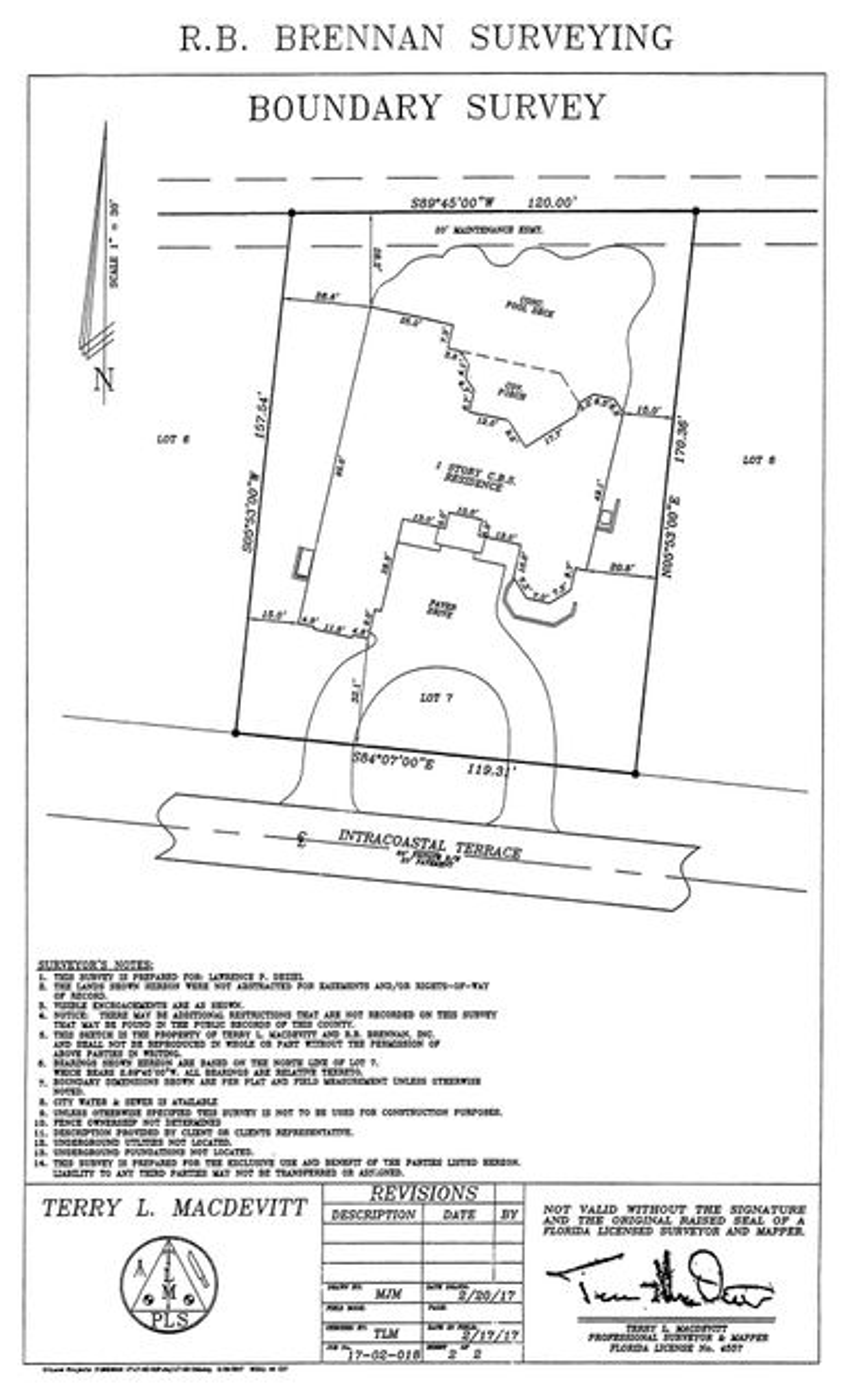 12009 Intracoastal - Survey