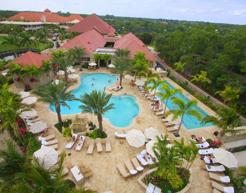 Clubhouse Pool Aerial 2