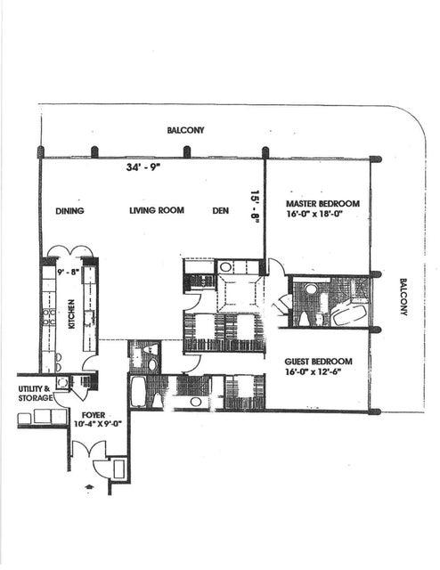 406S Floor Plan
